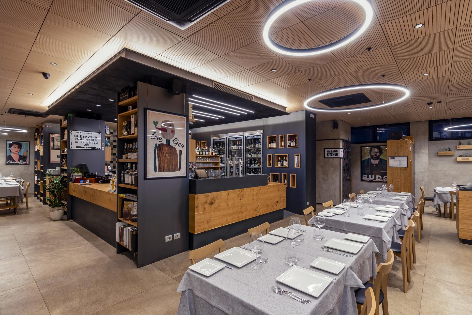 sala ristorante 100 posti
