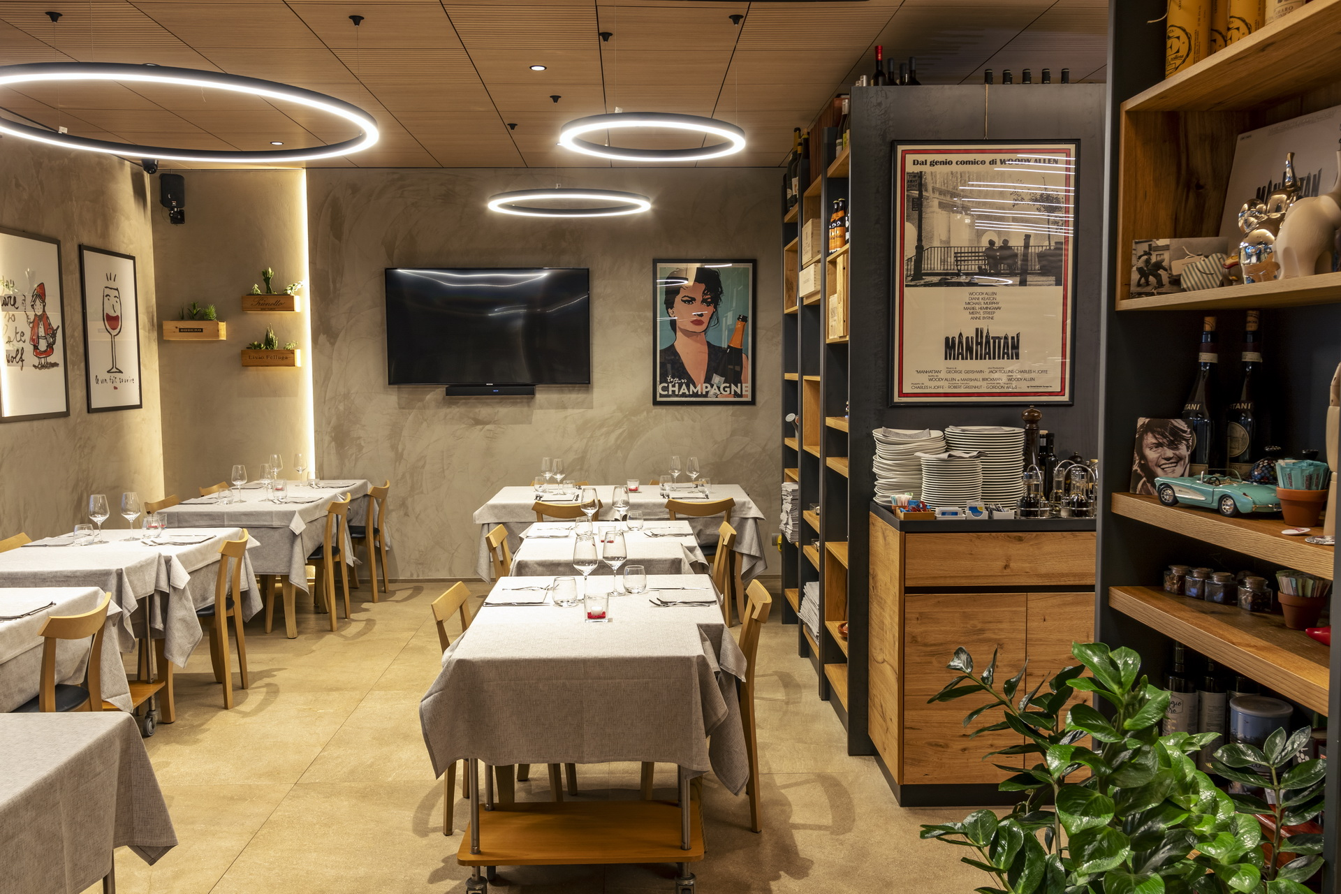 ristorante romantico moderno porto sant'elpidio